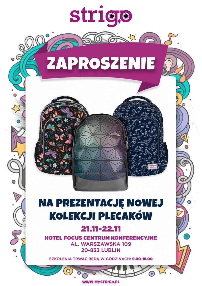Plecaki Strigo